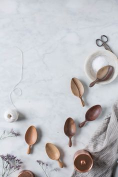 wooden scoops by sweet gum co. | handmade in TN