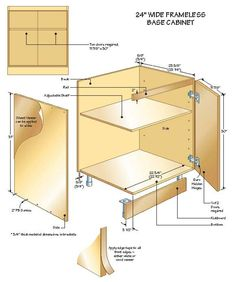 Cabinet Project: This Article Is The Third In A Series Of Five That Will  Explore Many Of The Issues And Cabinet Styles For Those Of You Who Want To  Build ...