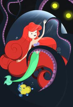 The Little Mermaid in Adventure Time by ~KrisLiao on deviantART