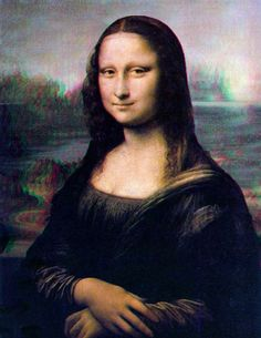 3D Mona | I don't have any 3D glasses in the house, so I can… | Flickr