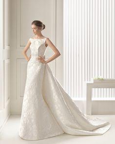 Sam vestido de novia Rosa Clara