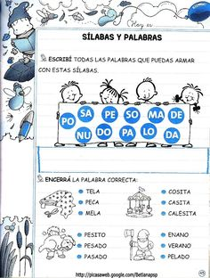 Spanish Lessons For Kids, Learning Spanish, Learning Activities, Activities For Kids, Elementary Spanish, Math For Kids, Early Childhood Education, Science Projects, Pre School