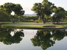 "Golf Where History Meets Hollywood at Tubac Golf Resort & Spa! See the lake featured in the movie ""Tin Cup""! 