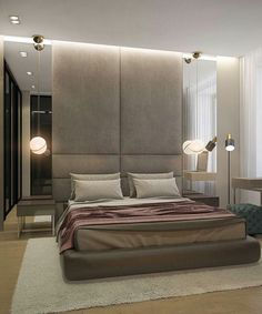 Respaldo Modern Luxury Bedroom, Master Bedroom Interior, Luxury Bedroom Design, Master Bedroom Design, Luxurious Bedrooms, Home Bedroom, Bedroom Decor, Interior Livingroom, Bedroom Ideas
