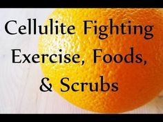 6 At-home Cellulite Remedies. Cellulite Fighting Exercise, Foods, and Scrubs. w/Laurel House What Is Cellulite, Causes Of Cellulite, Cellulite Scrub, Cellulite Exercises, Cellulite Cream, Cellulite Remedies, Reduce Cellulite, Anti Cellulite, Cellulite Workout