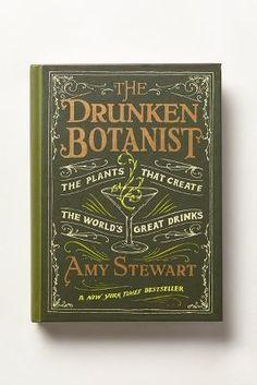 Anthropologie The Drunken Botanist #anthroregistry