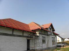 Budowa domu na podstawie projektu Benedykt 3 z MG Projekt.  #okno #dach #projekt #budowa #elewacja #mgprojekt