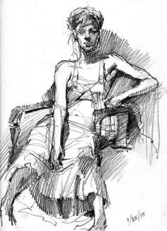 Debby Kaspari - Drawing The Motmot