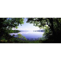 Lough Gill Co Sligo Ireland Irish Landscape Canvas Art - The Irish Image Collection Design Pics (30 x 12)