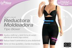 Body Faja Reductora Moldeadora Tipo Boxer (Ref. 3036). Get it on http://www.colwear.com/moldeadoras/body-moldeador-tipo-boxer/3036/ ___ ♥ Ayuda a reafirmar y darle forma al cuerpo, además de tenerlo bajo control. ___♥ Reduce hasta 6 centimetros la zona abdominal. ___ ♥ Viene con tiras ajustables y bandas levantacola.