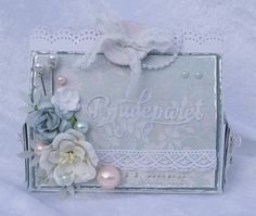 Gorgeous gift box decorated with a die from kaBoks!