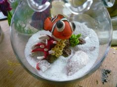 finding nemo made from fimo clay.