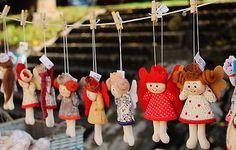 maramanufaktura / anjelka malinká /rôzna na želanie Wind Chimes, Minis, Christmas Ornaments, Holiday Decor, Outdoor Decor, Home Decor, Products, Xmas Ornaments, Homemade Home Decor