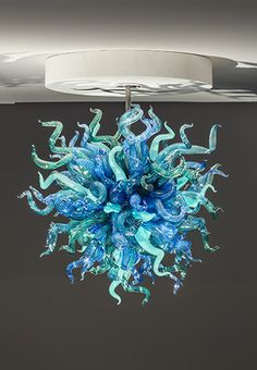 dale chihuly chandeliers by dale chihuly at schantz galleries - Blown Glass Chandelier