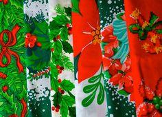 Christmas Cloth Napkins by Dot and Army