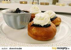 Bavorské vdolky s povidly a tvarohem Cakepops, Baked Potato, Muffins, Pudding, Food And Drink, Baking, Breakfast, Ethnic Recipes, Youtube