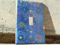 Science Atom Light Switch Plate Cover