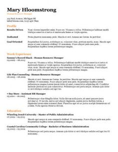 Free ATS (Applicant Tracking System) Optimized Resume Templates http://www.hloom.com/download-professional-resume-templates/
