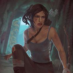 Lara Croft Tomb, Raiders, Videogames, Disney Characters, Fictional Characters, Fan Art, Disney Princess, Artwork, Anime