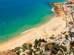 #Beach Praia da Luz, Algarve, Portugal | via http://blog.turismodoalgarve.pt