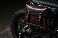 Bleu de Chauffe has teamed up with Paris' custom motorcycle garage Blitz on an exclusive bag collection designed for riders. See it here.