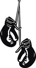 BOXING GLOVES HANGING Decal WALL STICKER Home Decor Art Vinyl Stencil