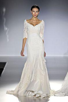 Franc Sarabia Barcelona Bridal Week 2014  #shopuniques.com