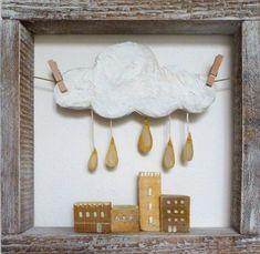 Мечты становятся явью в волшебных аппликациях из картона и дерева.