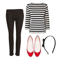 Classic ballet flats from Zara red ballet flats Red Flats Outfit, Ballet Flats Outfit, Black Ballet Flats, Outfits With Red Shoes, Outfit Work, Shirt Outfit, Ballerinas Outfit, Zara, Casual Styles