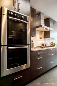 Bosch appliances with Sharer Cabinetry