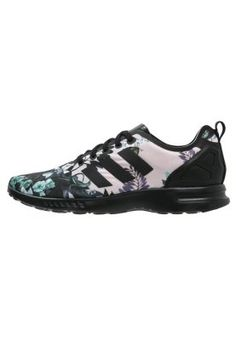 adidas Originals ZX FLUX SMOOTH - Sneakers - core black - Zalando.se