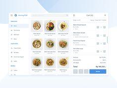 Point of Sales tablet food restaurant webdesign ui shop statistics dashboard sales of point pos Form Design Web, Kiosk Design, Mobile Ui Design, App Ui Design, Flat Design, Site Design, Design Design, Design Responsive, Wireframe Design