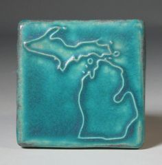 TILE~Pewabic Pottery....the People Mover is full of Pewabic Tiles, as is Comerica Park, as are MANY Grosse Pointe Homes. www.pointeinsuranceagency.com