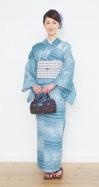 有松鳴海絞り 浴衣プレタ Yukata, Kimono, Japanese, Traditional, Fashion, Dress, Moda, Japanese Language, Fashion Styles