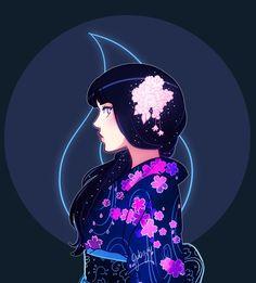 hinata-hyuga kimono