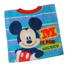 Disney Mickey Mouse Fiber Reactive Pullover Toddler Bib