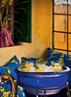 Drinks para receber os convidados.  By Caseirice.