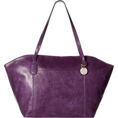 Hobo Patti (Verbena) Tote Handbags (9.575 RUB) ❤ liked on Polyvore featuring bags, handbags, shoulder bags, bone, shoulder handbags, purple shoulder bag, purple purse, shoulder tote bags and shoulder strap bags
