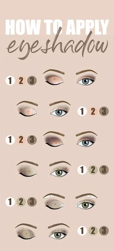makeup step by step Amazing beauty eye makeup tutorial step by step with eyeshadows to get a perfect. Amazing beauty eye makeup tutorial step by step with eyeshadows to get a perfect smokey eyes look Eyeshadow Step By Step, Makeup Tutorial Step By Step, How To Apply Eyeshadow, Eyeshadow Looks, Makeup Eyeshadow, Eyeshadows, Natural Eye Makeup Step By Step, Eyeshadow Makeup Tutorial, Eyeshadow Steps