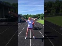 Tatiana Cute Cheer Practice Youth Soffe Shorts
