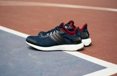 http://SneakersCartel.com There's A New Navy/Maroon Colorway Of The adidas Ultra Boost ST Available Now #sneakers #shoes #kicks #jordan #lebron #nba #nike #adidas #reebok #airjordan #sneakerhead #fashion #sneakerscartel