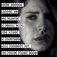 Noir, Lana Del Rey.