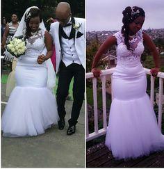 Kente Dress, African Wedding Attire, Civil Wedding Dresses, Beautiful Wedding Gowns, African Fashion Dresses, Wedding Bridesmaids, Bridal Gowns, Marie, Wedding Ideas