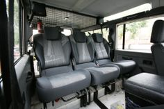 Renault Scenic 2 rear seats into 110 defender