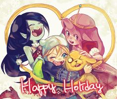 Adventure Time -Anime Style-
