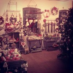 Christmas decorations, gifts, candles, interior accessories and much more