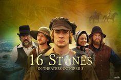 16 Stones in theaters October 3rd! Starring Mason D. Davis! #16Stones