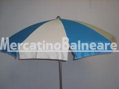 Ombrelloni professionali per spiaggia in alluminio Q.TA' 3 EURO 40.00 - Mercatino Balneare ombrelloni 100/10 palo in alluminio diam 38 in discrete condizioni tessuto acrilico a spicchi ecru e azzurro in buone condizioni prezzo cadauno + iva + trasporto Quantità: 3 Prezzo € 40.00+iva https://www.mercatinobalneare.it/annuncio/ombrelloni-professionali-per-spiaggia-in-alluminio-q-ta-3-euro-40-00/ #stabilimentobalneare #attrezzaturabalneare #attrezzaturabalneareusata #