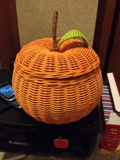 Orange rattan