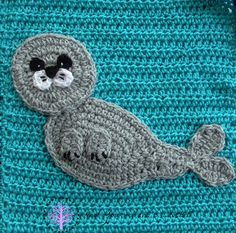 I am super excited about my latest blanket. All the appliques are designed around the theme Under the Sea.            Shark -       ...